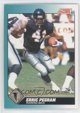 1991 Score Rookie & Traded #70T - Erric Pegram