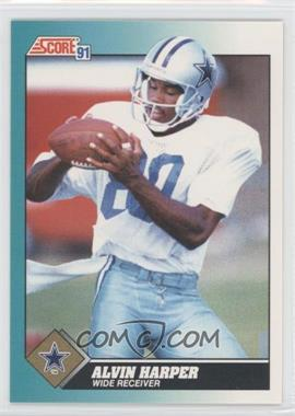 1991 Score Rookie & Traded #71T - Alvin Harper