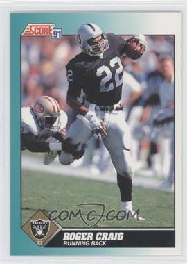 1991 Score Rookie & Traded #7T - Roger Craig