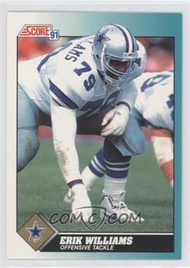 1991 Score Rookie & Traded #85T - Erik Williams