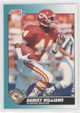 1991 Score Rookie & Traded #89T - Harvey Williams