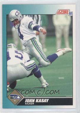 1991 Score Rookie & Traded #96T - John Kasay