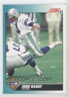 1991 Score Rookie & Traded #96T - John Kasay