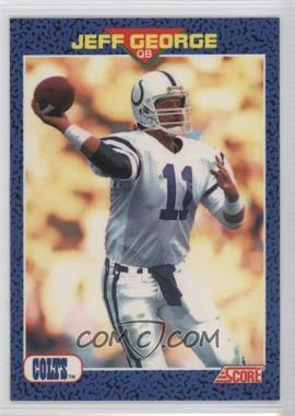 1991 Score Young Superstars - [Base] #27 - Jeff George
