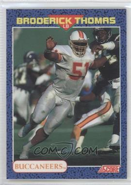 1991 Score Young Superstars - [Base] #28 - Broderick Thomas
