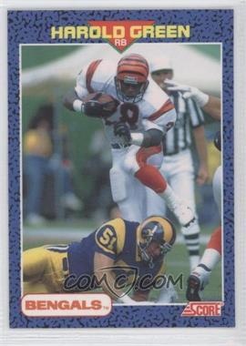 1991 Score Young Superstars - [Base] #31 - Harold Green