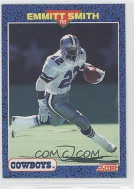 1991 Score Young Superstars #12 - Emmitt Smith