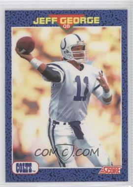 1991 Score Young Superstars #27 - Jeff George