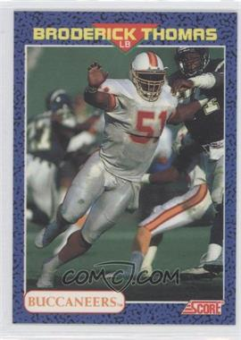 1991 Score Young Superstars #28 - Broderick Thomas