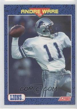1991 Score Young Superstars #32 - Andre Ware