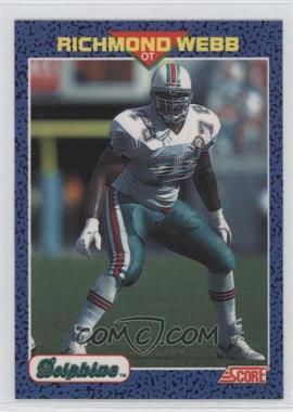 1991 Score Young Superstars #33 - Richmond Webb