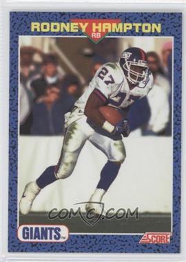 1991 Score Young Superstars #39 - Rodney Hampton