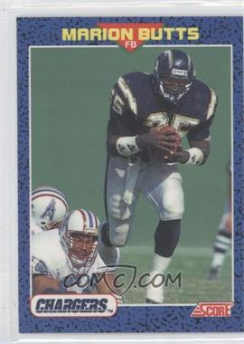 1991 Score Young Superstars #9 - Marion Butts