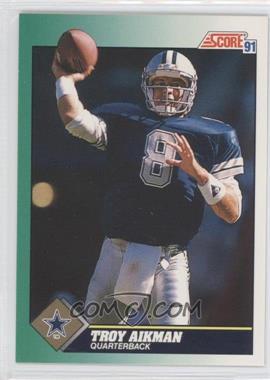 1991 Score #225 - Troy Aikman