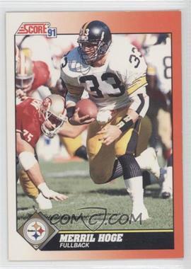 1991 Score #355 - Merril Hoge