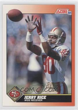 1991 Score #380 - Jerry Rice