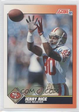1991 Score #380 - Jerry Rice