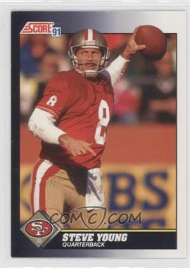 1991 Score #505 - Steve Young