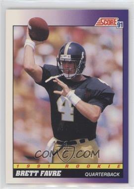 1991 Score #611 - Brett Favre