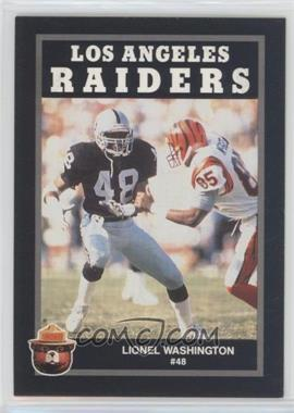 1991 Smokey Bear Los Angeles Raiders #LIWA - Lionel Washington