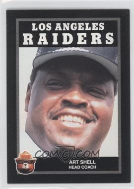 1991 Smokey Bear Los Angeles Raiders #N/A - Art Shell