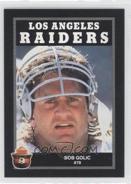 1991 Smokey Bear Los Angeles Raiders #N/A - Bob Golic