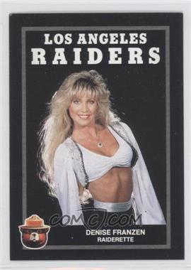 1991 Smokey Bear Los Angeles Raiders #N/A - Derrick Frazier
