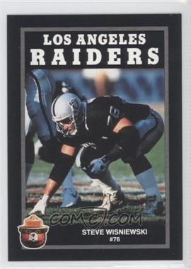 1991 Smokey Bear Los Angeles Raiders #N/A - Steve Wisniewski