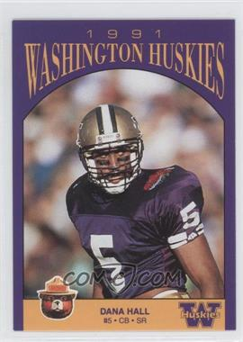1991 Smokey Washington Huskies #N/A - Dana Hall