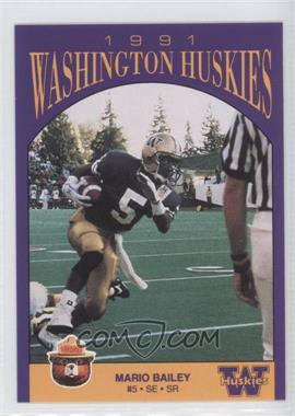 1991 Smokey Washington Huskies #N/A - [Missing]