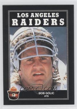 1991 Smokey the Bear Los Angeles Raiders #N/A - Bob Golic