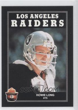 1991 Smokey the Bear Los Angeles Raiders #N/A - Howie Long