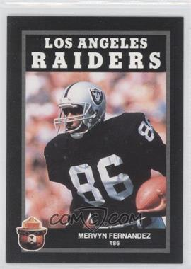 1991 Smokey the Bear Los Angeles Raiders #N/A - Mervyn Fernandez