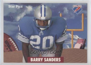 1991 Star Pics - [Base] #2 - Barry Sanders