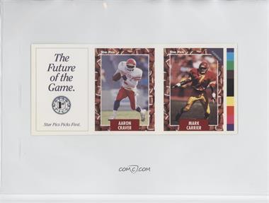 1991 Star Pics - Promo Strips #N/A - Mark Carrier