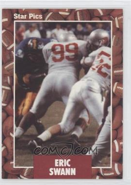 1991 Star Pics Certified Autograph #73 - Eric Swann