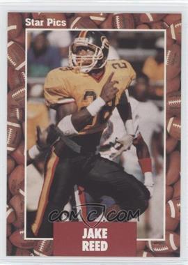 1991 Star Pics #54 - Jake Reed