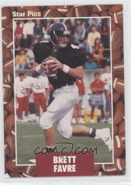 1991 Star Pics #65 - Brett Favre
