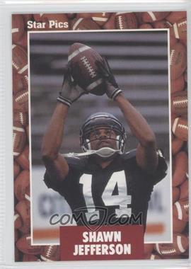 1991 Star Pics #98 - Shawn Jefferson