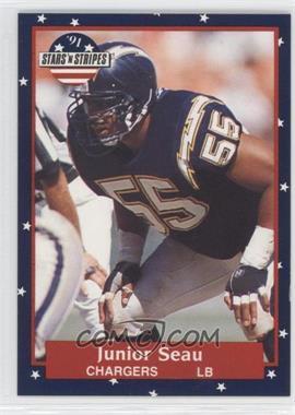 1991 Stars 'n Stripes - [Base] #56 - Junior Seau