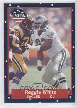 1991 Stars 'n Stripes #100 - Reggie White
