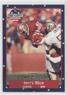 1991 Stars 'n Stripes #110 - Jerry Rice