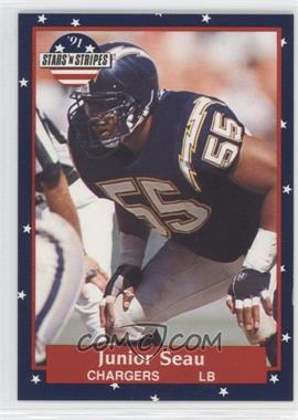1991 Stars 'n Stripes #56 - Junior Seau