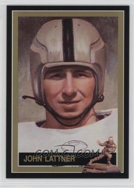 1991 The Heisman Collection Box Set [Base] #19 - Johnny Lattner