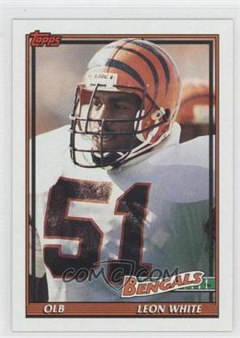 1991 Topps - [Base] #255 - Leon White
