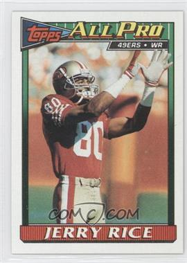 1991 Topps - [Base] #81 - Jerry Rice