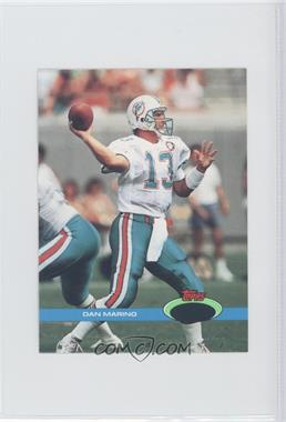 1991 Topps Stadium Club - [Base] - Pre-Production Proofs #264 - Dan Marino