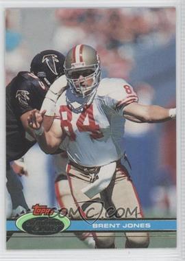 1991 Topps Stadium Club - [Base] - Super Bowl XXVI #97 - Brent Jones