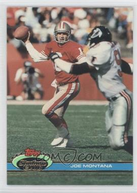 1991 Topps Stadium Club #327 - Joe Montana
