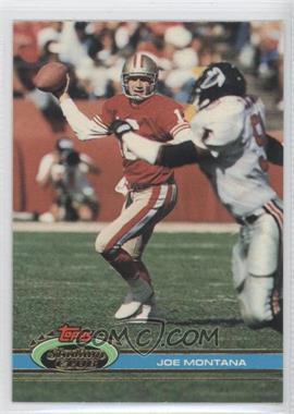 1991 Topps Stadium Club #327 - Joe Montana